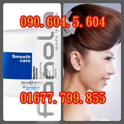 Hấp dầu giữ nếp tóc thẳng dành cho tóc Duỗi Fanola Smooth Care 500ml