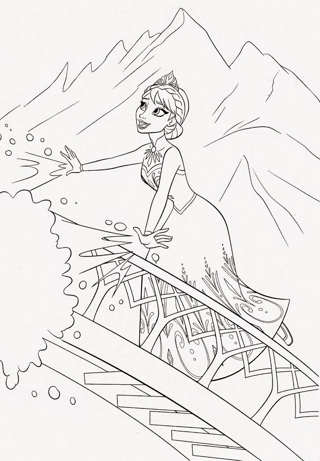 imagens para colorir frozen - Frozen para colorir Desenhos para Colorir