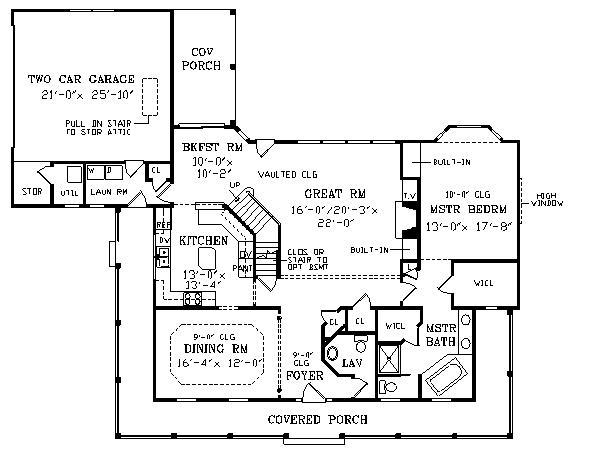 Planos casas modernas planos de casas de campo de una planta for Planos de casas medianas