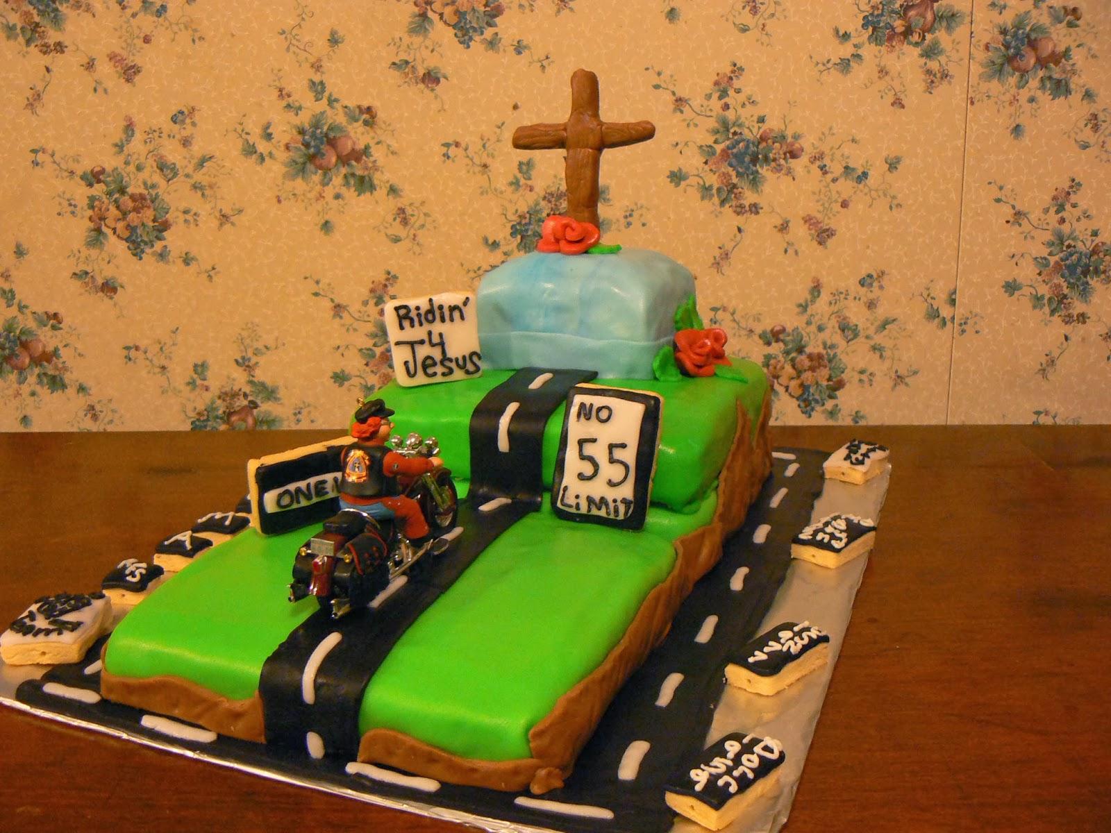 Salleebs Kitchen Ridin 4 Jesus 55th Birthday Cake