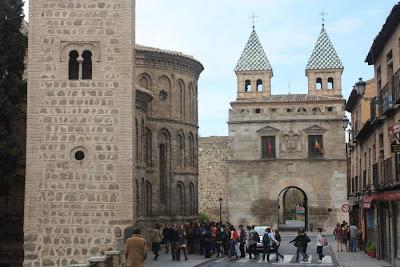 Puerta de Bisagra in Toledo