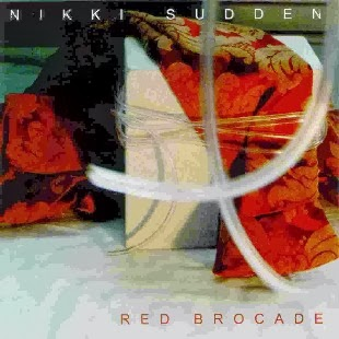 NIKKI SUDDEN - Red brocade