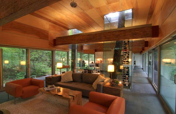Modern Hayes Residence by Travis Price Architects