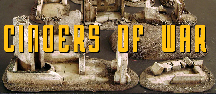 CINDERS OF WAR