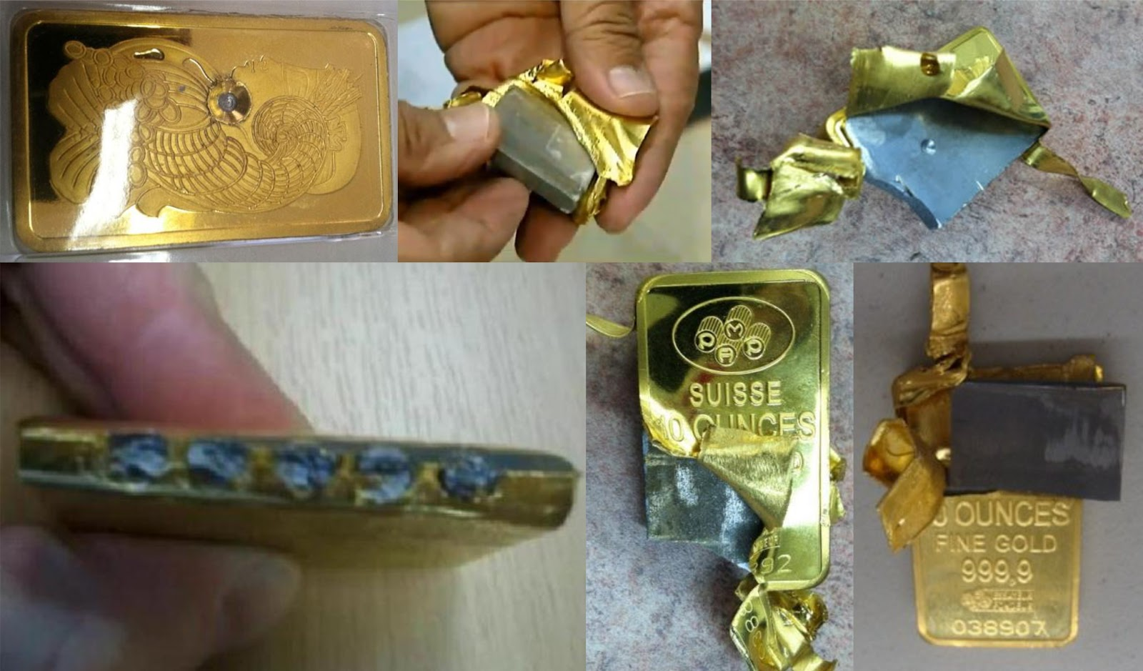 Fake Pamp Suisse 2 5g Gold Bars In Assay Page 6