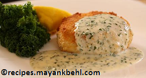 fish-cakes-with-mashed-potatoes recipe