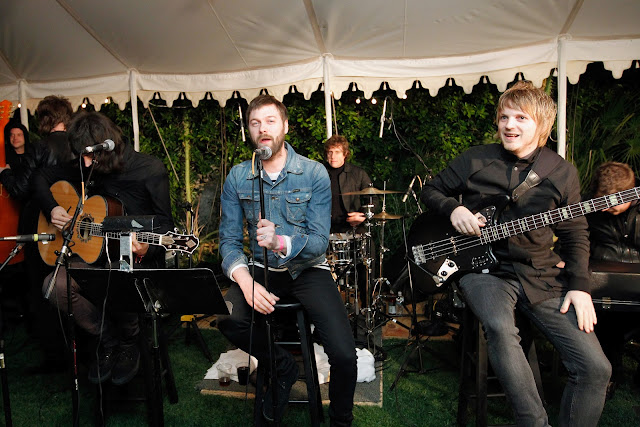 Kasabian performing at Mulberry Coachella Party