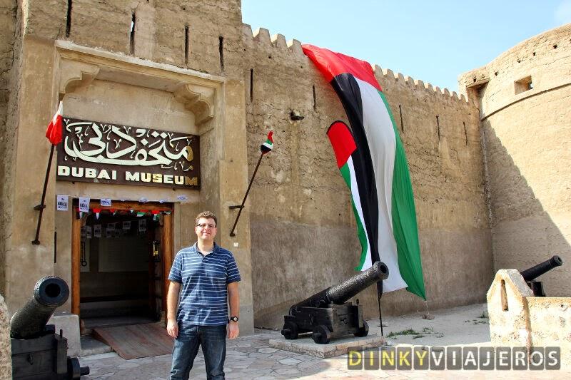 Dubai Museum. Entrada
