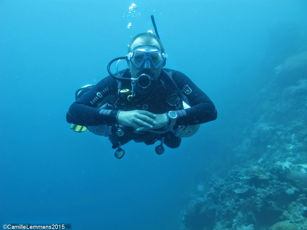 PADI Specialty Instructor Training March 2015 in Moalboal, Philippines