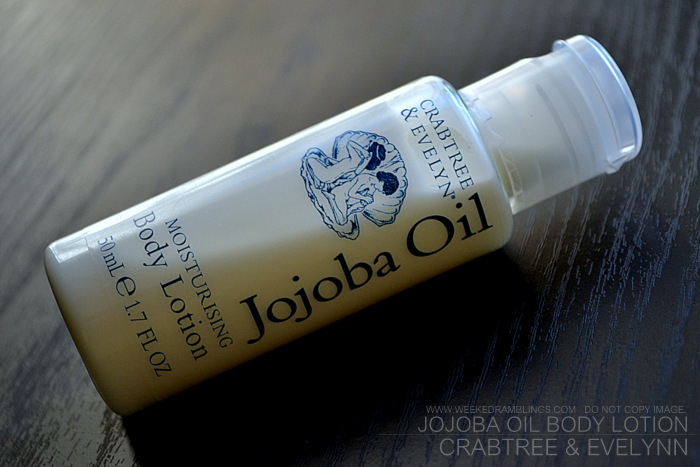 Crabtree Evelynn Skincare Jojoba Oil Body Lotion Ingredients Review Indian Makeup Beauty Blog