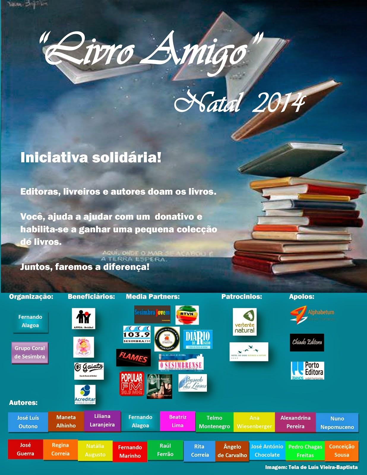 Livro Amigo - Natal 2014