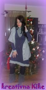 ...porubljena haljina :)
