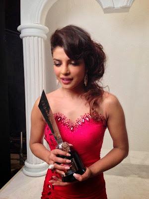 Priyanka Chopra received the 'Global Face of the Year' award