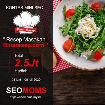 Kontes Mini SEO Rinaresep.com