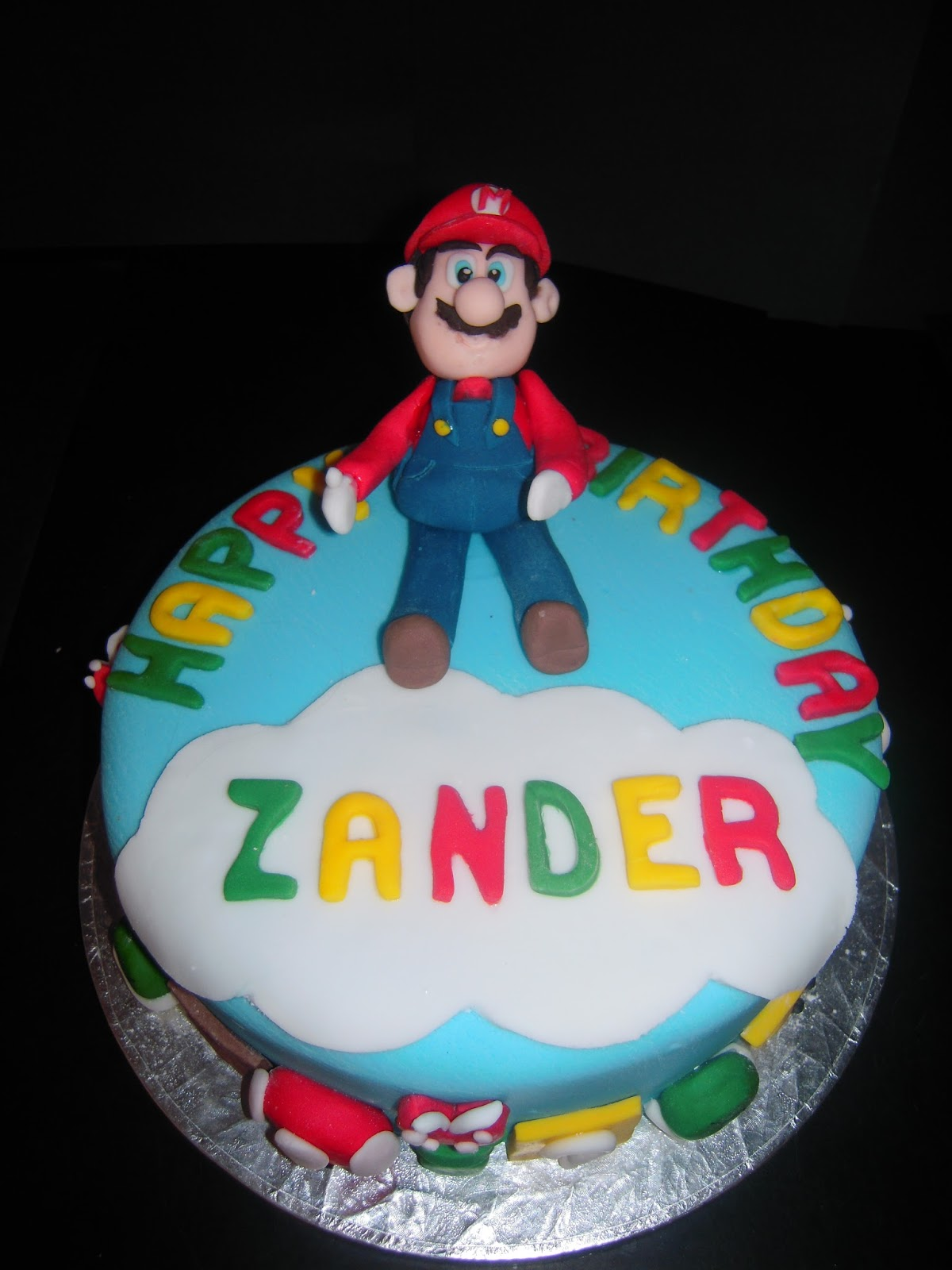 Eileen Atkinsons Celebration Cakes Super Mario Birthday Cake