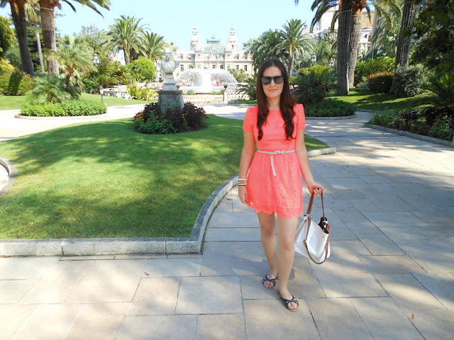Monte Carlo Neon Dress Blog