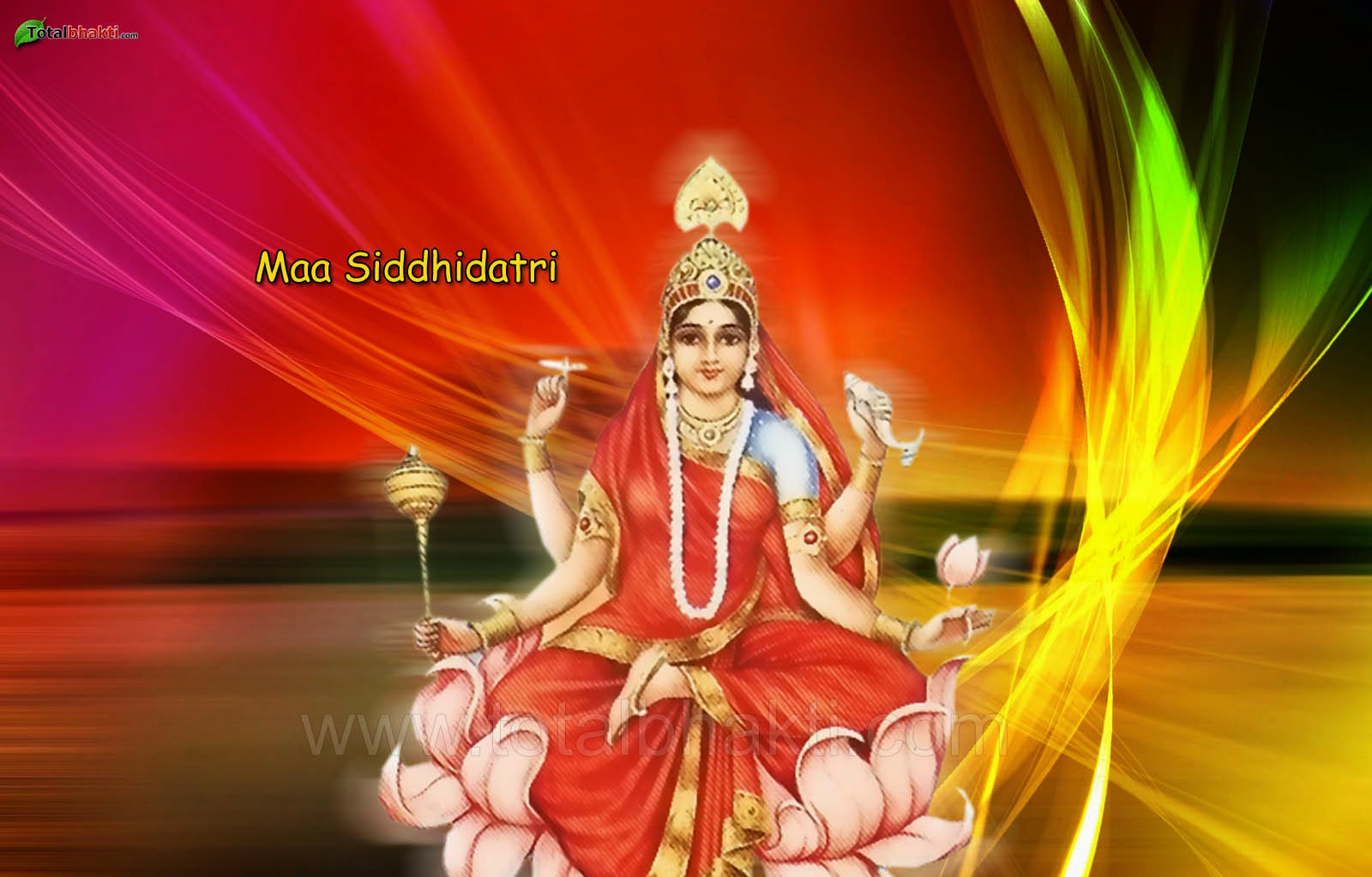 Maa Siddhidatri Images Picture Wallpaper Photos