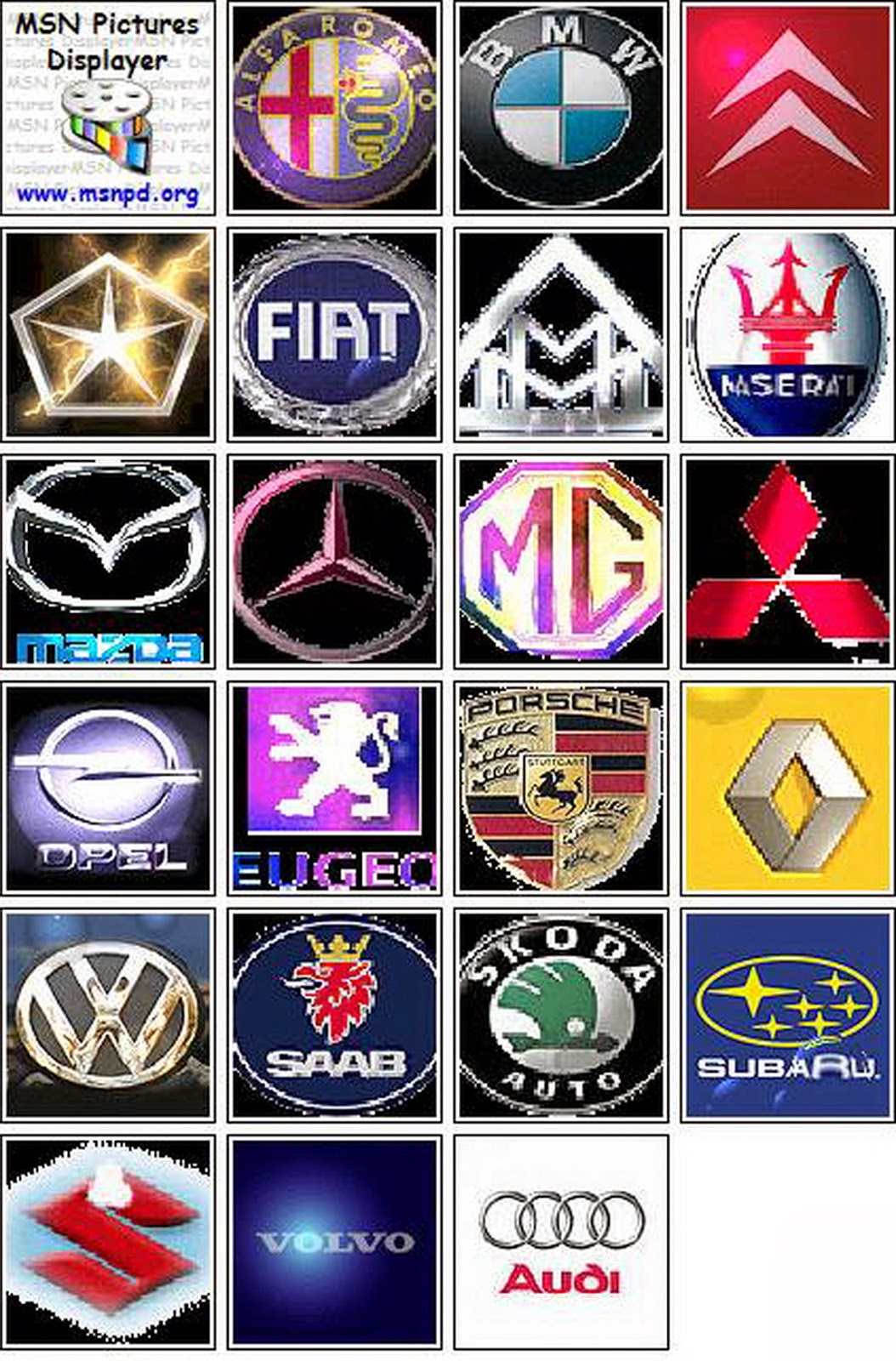 4 altered affectionate of car logo designs that you can use the beastly bizarre car logo designs represent power backbone and speed and aswell add a added acceptation to the image voltagebd Images
