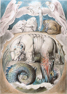 Behemoth and Leviathan - Wm. Blake