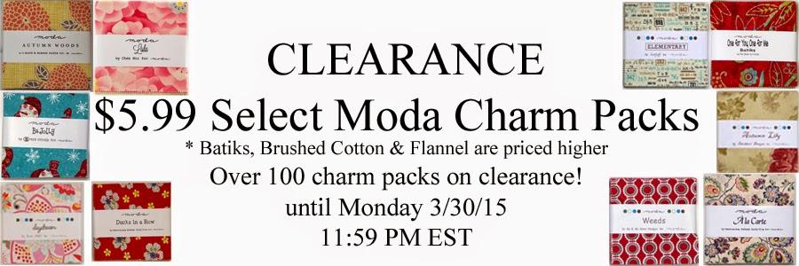 $5.99 Moda Charm Packs