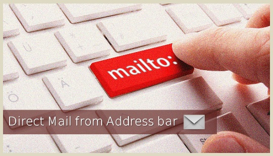 How to Compose Direct Mail from Address Bar mailto:
