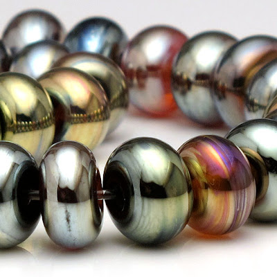 Metallic spacer bead set