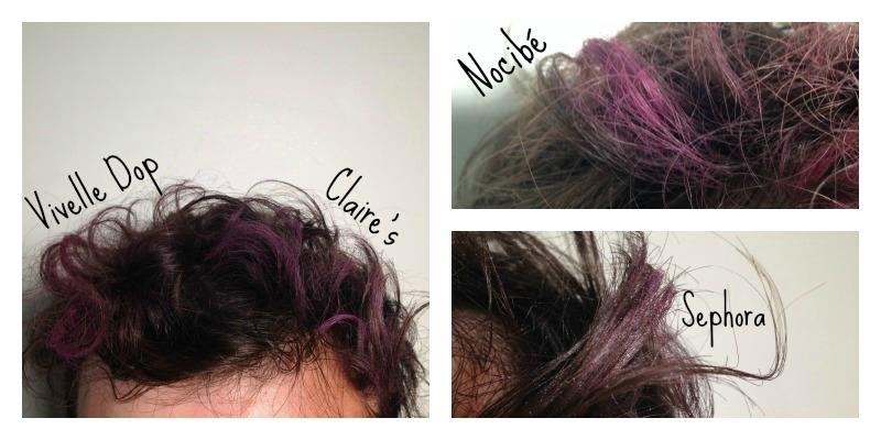 Craie coloration cheveux sephora