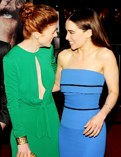 Rose Leslie and Emilia Clarke.png