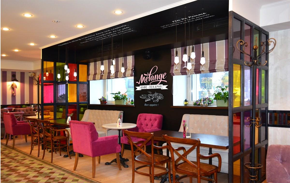 Дизайн французской кафе-кондитерской