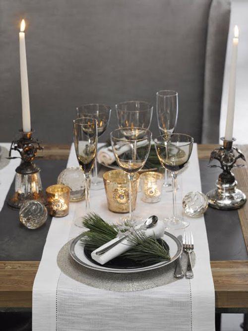 Tilbury decoraci n mesas de navidad for Como poner una mesa bonita
