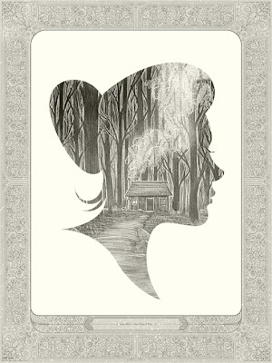 "Mondo Once Upon A Time Print Series - ""Snow White"" Standard Edition Screen Print by Kevin Tong"