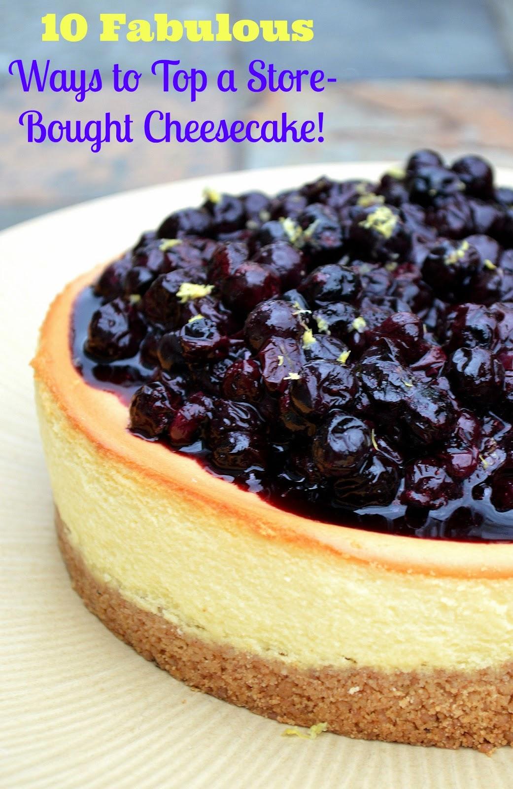 how to make homemade cheesecake topping