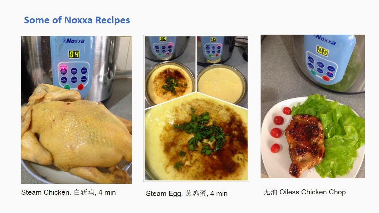 Noxxa Pressure Cooker Cake Recipe