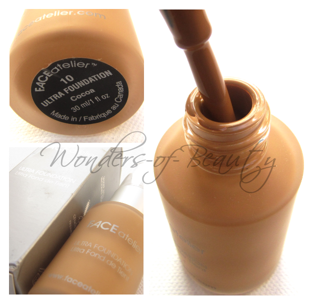 Face Atelier Ultra Foundation - #10 Cocoa. Now as for this product,