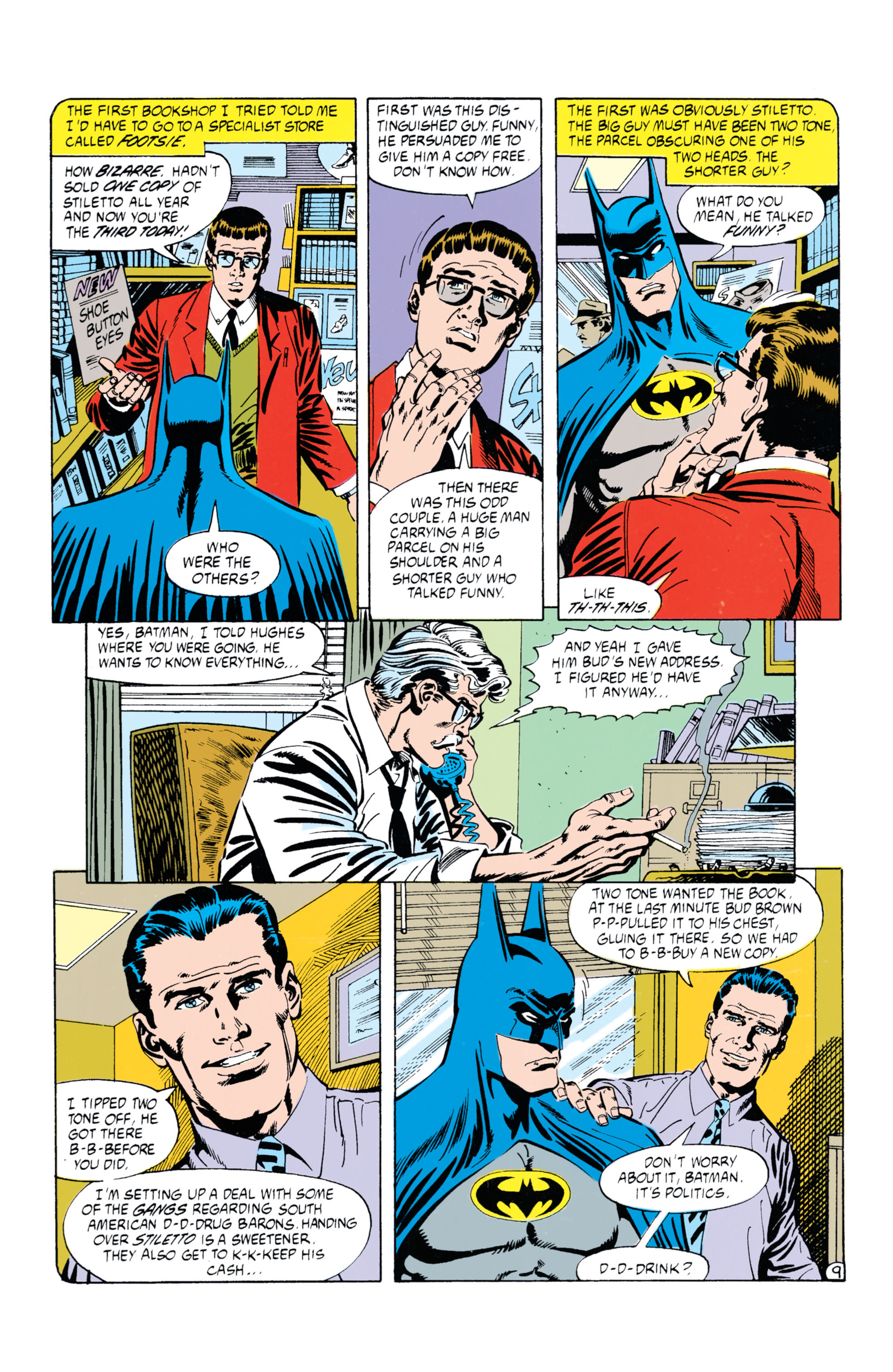 Detective Comics (1937) Issue #630 Page 10