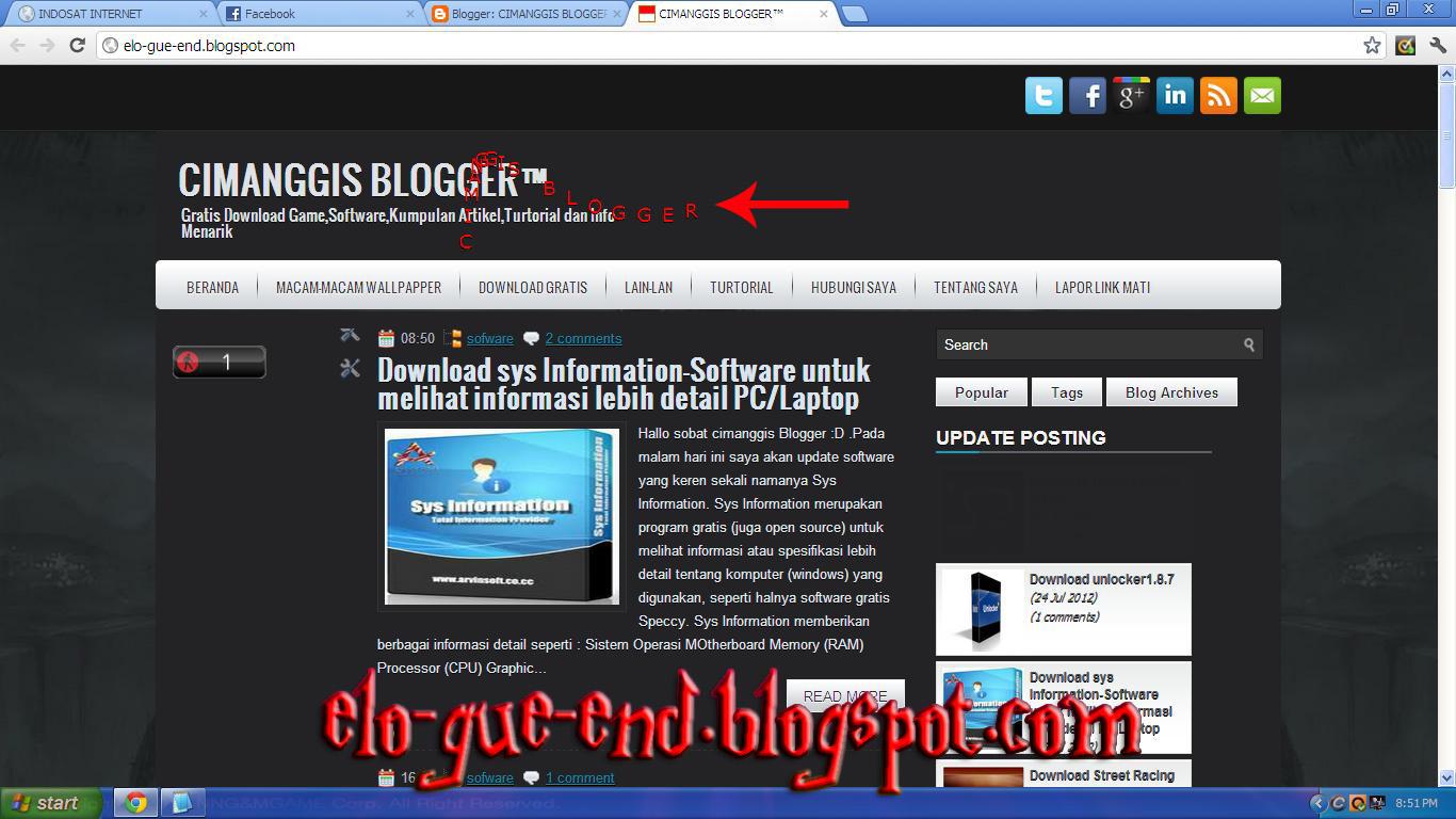 Cara membuat tulisan mengikuti kursor di blog cimanggis for Window onload not working in ie