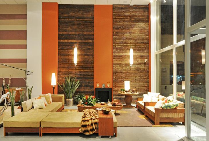 Casa decora o madeira de demoli o na decora o for Ambientes interiores de casas