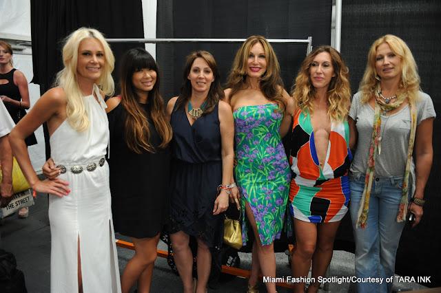 Nicole Hanriot, Vy Nguyen, Irene Sultan, Tara Salomon, Libby de Santis and Anna Kosturova.