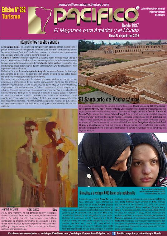 Revista Pacífico Nº 282 Turismo