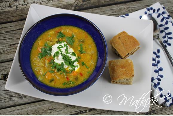 kyckling curry soppa