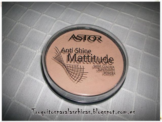 Anti shine Mattitude