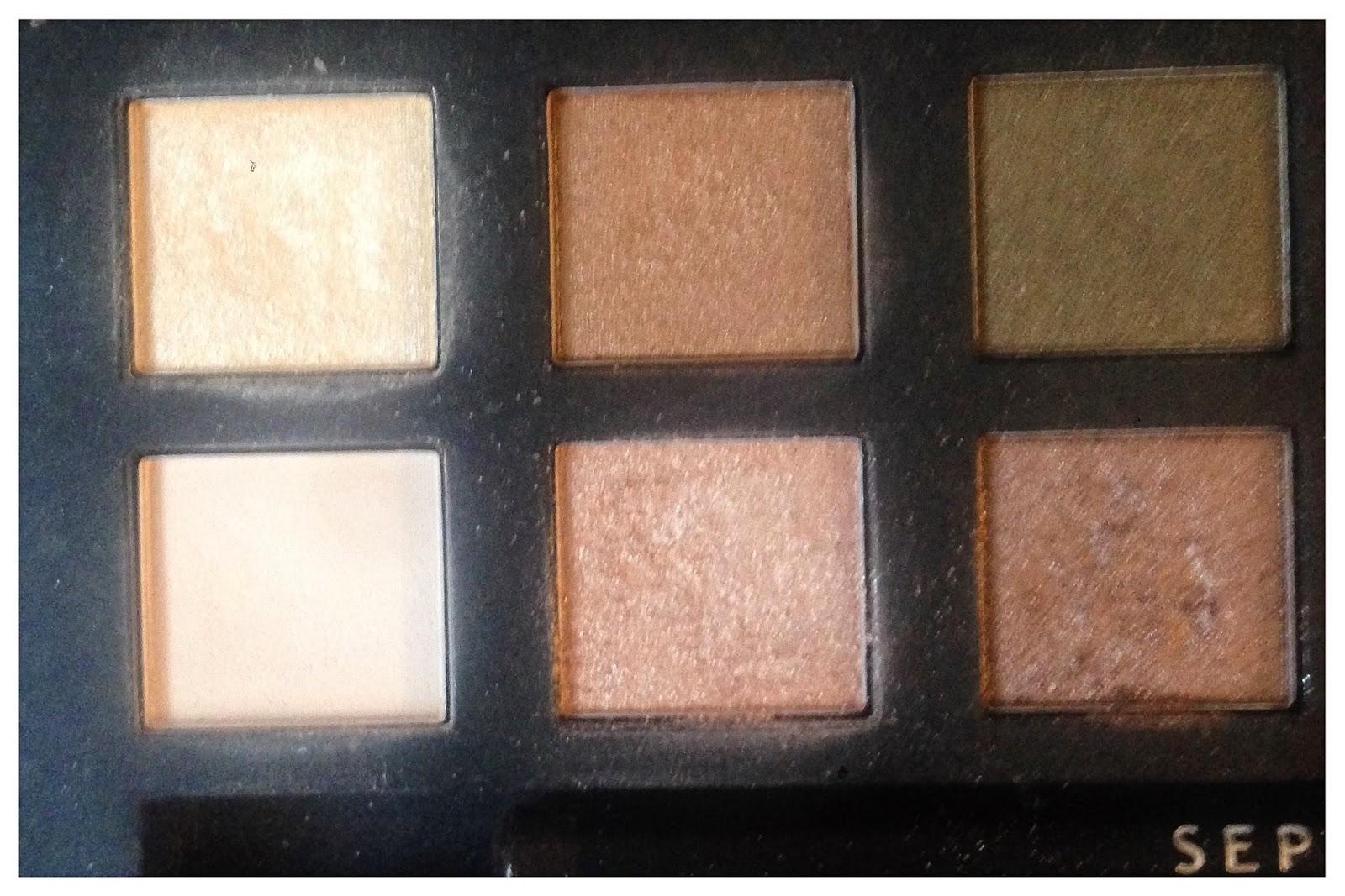 Sephora Collection It Palette Nude Closeup