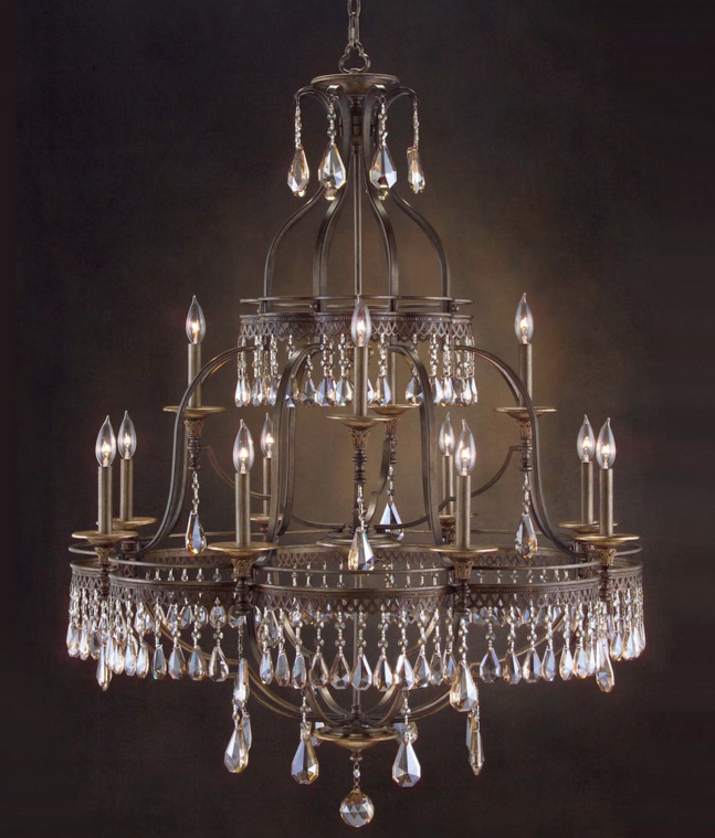 Mix and chic featured post luxedecor john richard augustine twelve light 40 wide grand chandelier mozeypictures Gallery