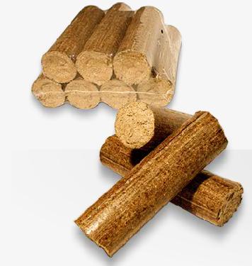 Briquetas de madera para estufas y chimeneas madera de - Estufas de pellets fabricadas en espana ...