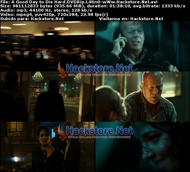 Captura Duro de Matar 5 DVDRip Latino