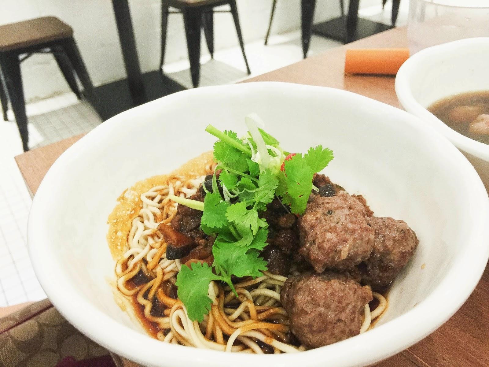 GRUB Noodle Bar Beef Noodles