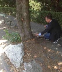 Una prima verifica dell'Assessore Rolando, hai problemi del quartiere Borsalino