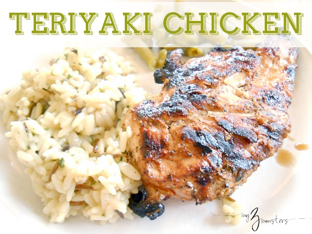Grilled Teriyaki Chicken recipe at my3monsters.com