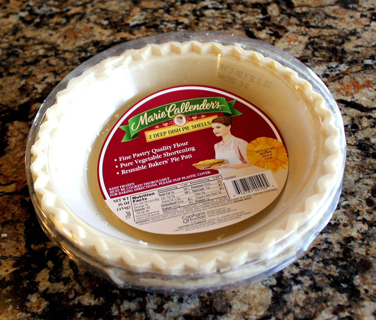 9-Inch Baked Pie Shell
