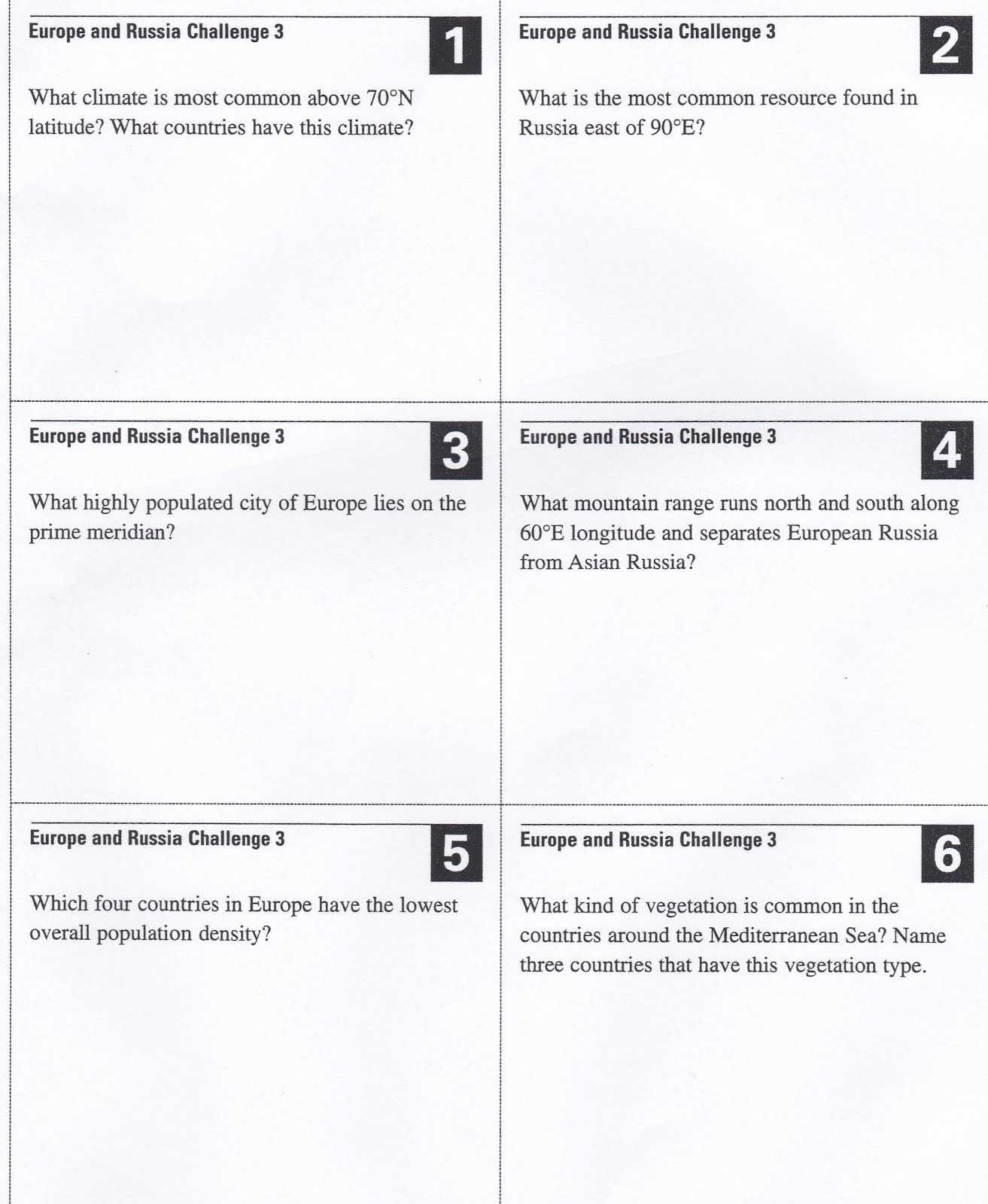 the attached images have questions that relate to the maps on pages 262 266 along with your answer for each question also write down the map or maps you